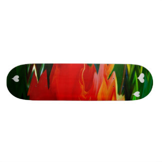 Don't leave me_ Skateboard Custom Skate Board