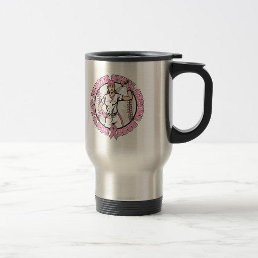 Don't Let Cancer Steal 2nd Base Breast Cancer Coffee Mug