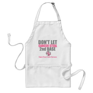 Dont Let Cancer Steal Second 2nd Base Aprons