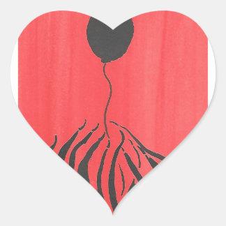 Don't Let It Get Away Heart Sticker