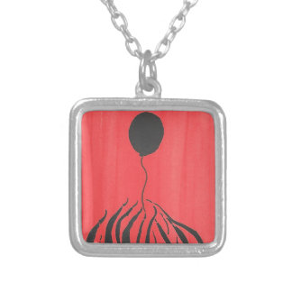 Don't Let It Get Away Silver Plated Necklace