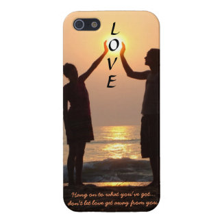 Don't let LOVE get away from you    Sunrise iPhone iPhone 5/5S Case
