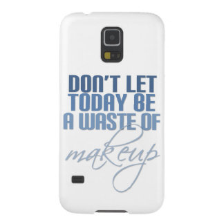 Don't let today be a waste of Makeup Cases For Galaxy S5