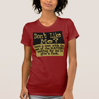 Dont Like Me? Have a seat HATER.. T-Shirt