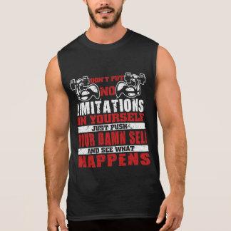 Don't limit yourself Gym motivation tanks