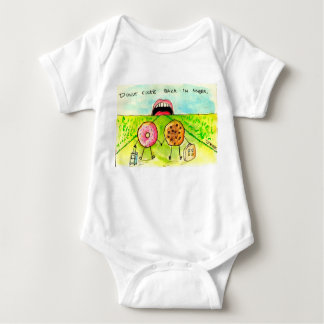 Don't look back in to anger baby baby bodysuit