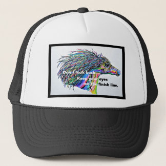Don't Look Back Trucker Hat