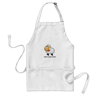 dont lose count sheep standard apron