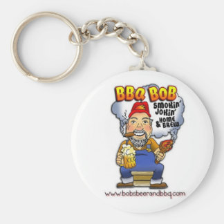 Don't lose your keys! BBQ Bob is here! Key Ring