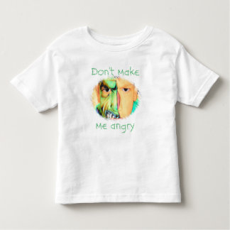 """Don't make me angry"" T-Shirt"