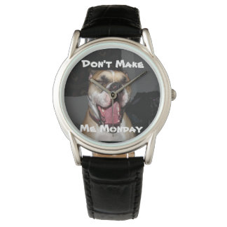 Don't Make Me Monday Wrist Watch