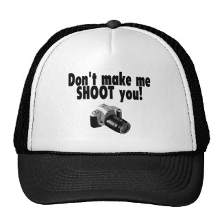 Don't Make Me Shoot You Mesh Hat