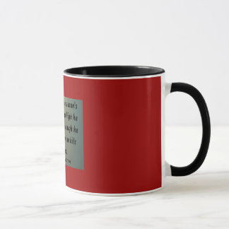 Don't measure a man'ssuccess by how ... mug