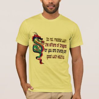 don't mess with Dragons Design T-shirts gift idea