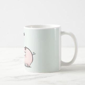 Don't mess with he pig coffee mug