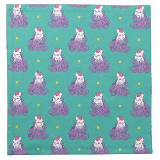 Don't Mess With Me Frenchie Design Napkin