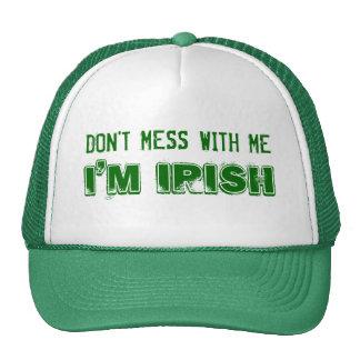 Don't Mess with Me, I'm Irish Cap