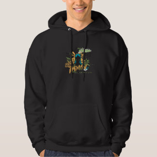 Don't Mess with the Batman - Notebook Collage Hoodies
