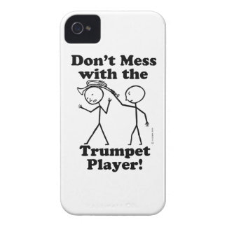 Don't Mess With The Trumpet Player Case-Mate iPhone 4 Cases