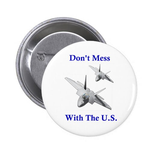 Don't Mess With The U.S. Pin
