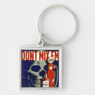 Don't Mix 'Em Key Ring