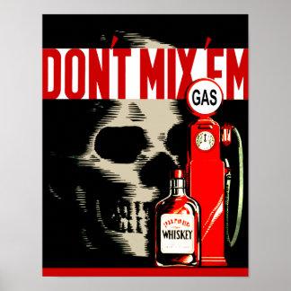 Don't Mix 'Em Poster