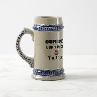 Don't Mock The Rock Curling Mug