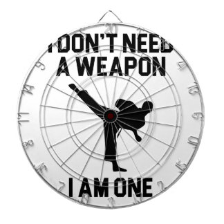 Don't Need a Weapon Dartboard