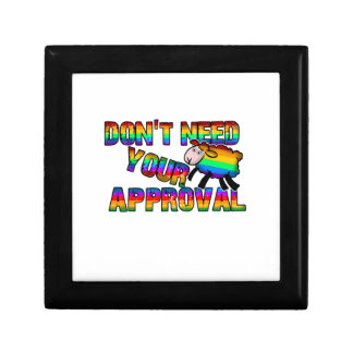 Dont need your approval gift box