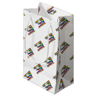 Dont need your approval small gift bag