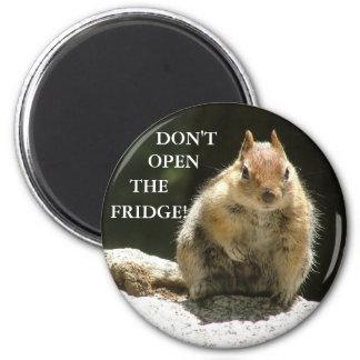 Don't open the fridge! magnet