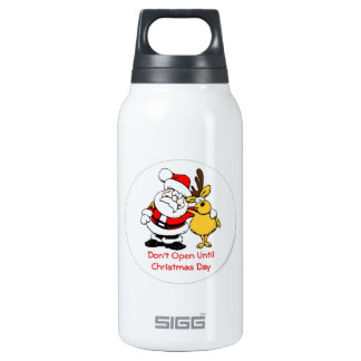 Don't Open Til Christmas 0.3 Litre Insulated SIGG Thermos Water Bottle