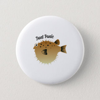 Dont Panic 6 Cm Round Badge