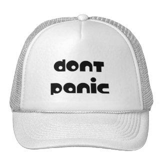 Don't Panic Cap