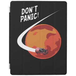 Dont panic - Car in space iPad Pro Case iPad Cover