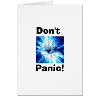 Don't Panic Card