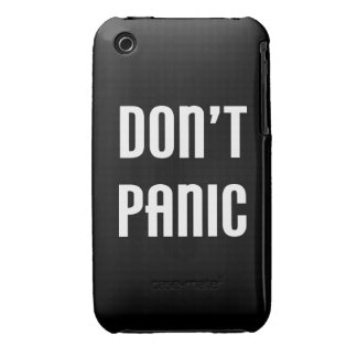 Don't Panic Case-Mate iPhone 3 Case
