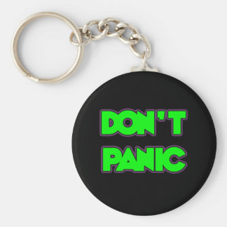 Don't Panic Key Ring