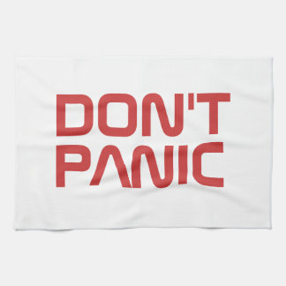 Don't Panic Kitchen Towel