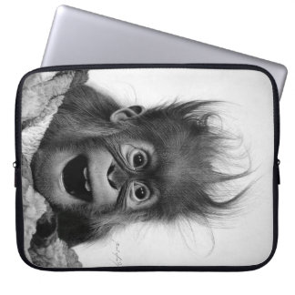 DON'T PANIC LAPTOP SLEEVE
