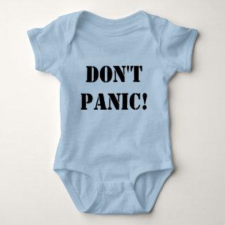 Don't Panic Onsie Baby Bodysuit