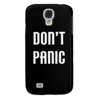 Don't Panic Samsung Galaxy S4 Cover