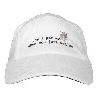 Don't pet me hat