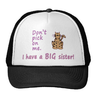 Don't Pick Little Sister Tigress Cap