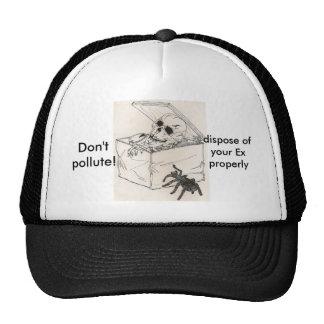 Don't pollute! (hat) cap