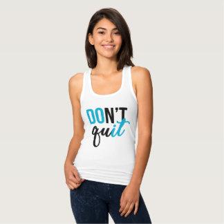Don't Quit; DO IT! Tank (blue)