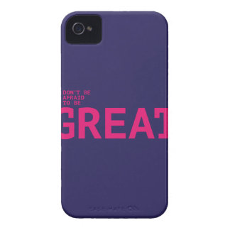 Don't sees afraid to sees GREAT iPhone 4 Case-Mate Case