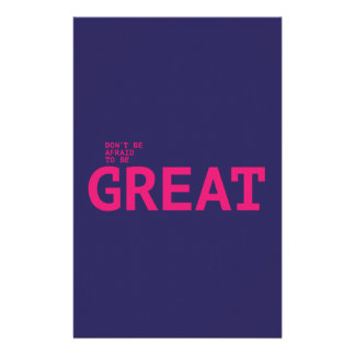 Don't sees afraid to sees GREAT Stationery