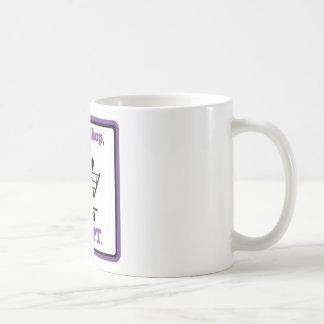 Don't Shop Adopt Coffee Mug