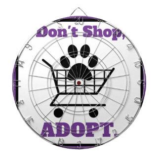 Don't Shop Adopt Dartboards
